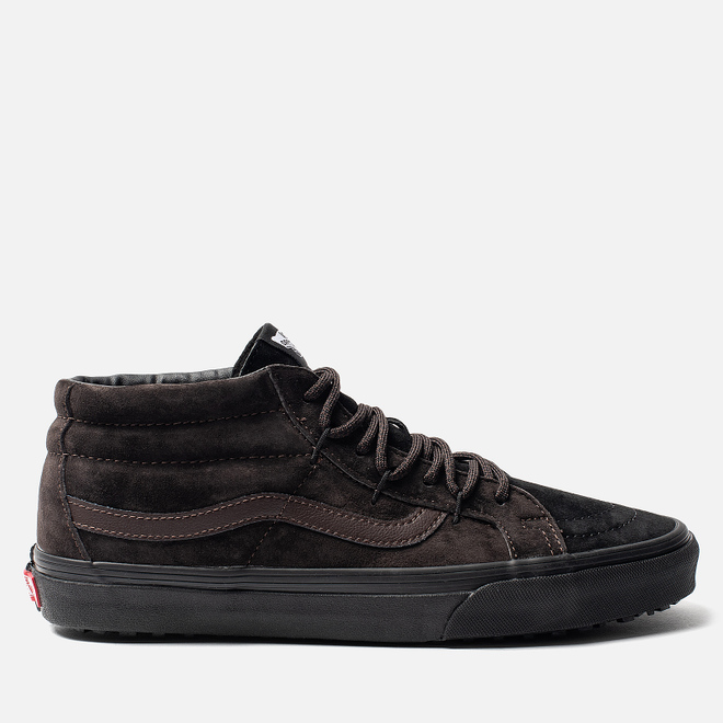 Мужские кеды Vans SK8-Mid Reissue Ghillie MTE Chocolate Torte/Black