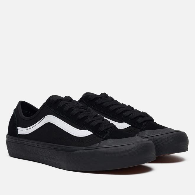 Мужские кеды Vans Style 36 Decon SF Black/Black/White