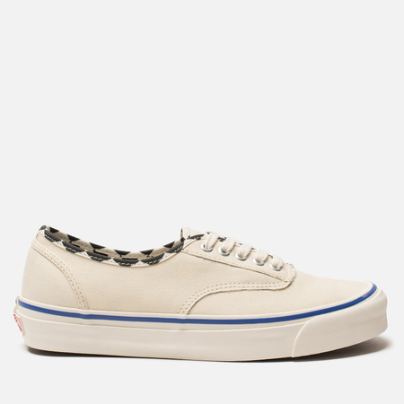 Мужские кеды Vans Vault OG Authentic LX Inside Out Pack White/Checkerboar