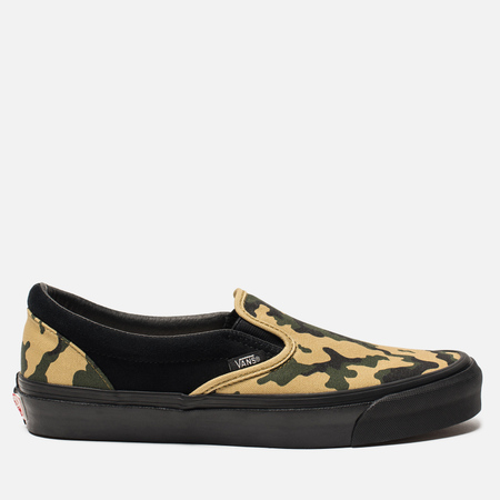 Мужские кеды Vans Vault OG Classic Slip-On Camo/Black
