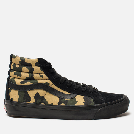 Мужские кеды Vans Vault OG SK8-Hi LX Inside Out Pack Camo/Black