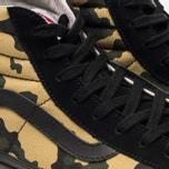 Мужские кеды Vans Vault OG SK8-Hi LX Inside Out Pack Camo/Black фото- 6