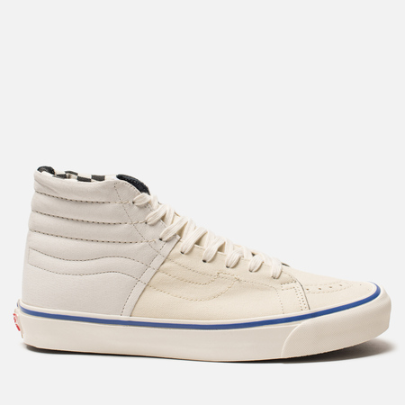 Мужские кеды Vans Vault OG SK8-Hi LX Inside Out Pack White/Checkerboar