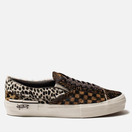 Мужские кеды Vans Vault Slip-On Cut & Paste LX Multi/Marshmallow