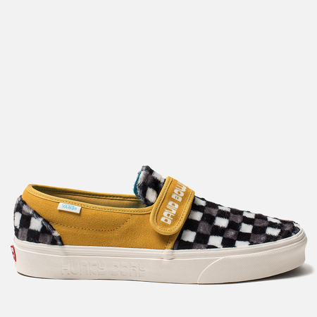 Мужские кеды Vans x David Bowie Slip-On 47 V Hunky Dory/Black/White