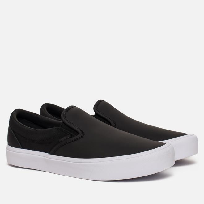 Мужские кеды Vans x Rains Slip-On Lite Black/True White