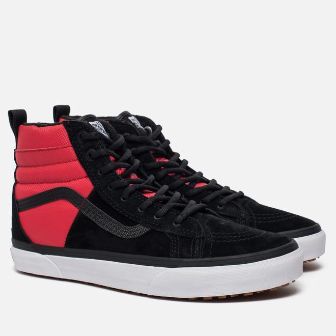 Мужские кеды Vans x The North Face SK8-Hi 46 MTE DX Black/Red