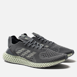 Мужские кроссовки adidas Consortium Consortium Runner 4D Narrative Onix/Aero Green/Night Grey