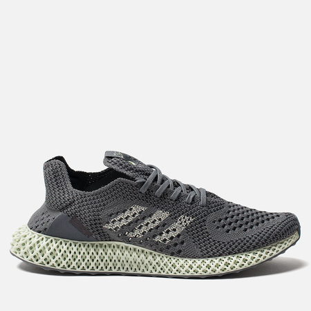 Мужские кроссовки adidas Consortium Consortium Runner 4D Narrative Onix/Aero Green/Night Grey