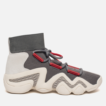 Мужские кроссовки adidas Consortium Crazy 8 ADV A//D Grey Four/Power Red/Sesame
