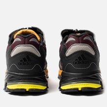 Мужские кроссовки adidas Consortium Response Hoverturf GF6100LC Maroon/Purple/Tactile Yellow фото- 4