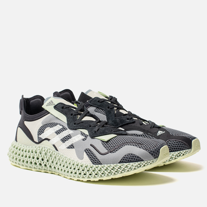 Мужские кроссовки adidas Consortium Runner Evo 4D Collegiate Navy/White/Black/Bold Orange