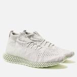 Мужские кроссовки adidas Consortium Runner Mid 4D White/Black фото- 2