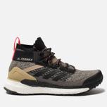 Мужские кроссовки adidas Consortium Terrex Free Hiker Core Black/Core Black/Shock Red фото- 0