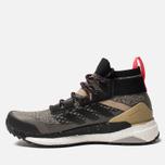Мужские кроссовки adidas Consortium Terrex Free Hiker Core Black/Core Black/Shock Red фото- 1