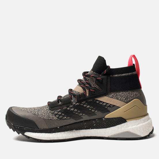 Мужские кроссовки adidas Consortium Terrex Free Hiker Core Black/Core Black/Shock Red