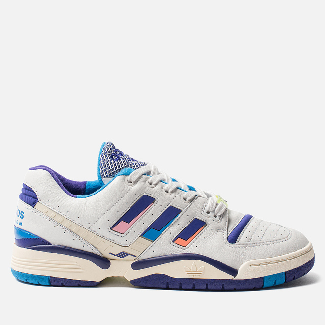 Мужские кроссовки adidas Consortium Torsion Edberg Comp Crystal White/ Energy Ink/Bright Blue