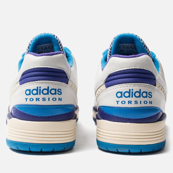 Мужские кроссовки adidas Consortium Torsion Edberg Comp Crystal White/ Energy Ink/Bright Blue