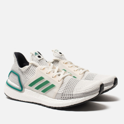 Мужские кроссовки adidas Consortium Ultra Boost 19 Core White/Sub Green/Light Granite