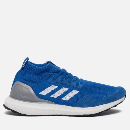 Мужские кроссовки adidas Consortium Ultra Boost Mid Run Thru Time Pack Blue/White
