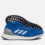 Мужские кроссовки adidas Consortium Ultra Boost Mid Run Thru Time Pack Blue/White фото- 1