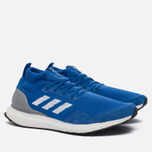 Мужские кроссовки adidas Consortium Ultra Boost Mid Run Thru Time Pack Blue/White фото- 2