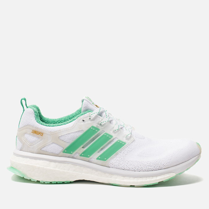Мужские кроссовки adidas Consortium x Concepts Energy Boost Shiatsu White/Blast Emerald/Power Tea