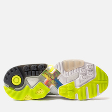Мужские кроссовки adidas Consortium x Footpatrol ZX Torsion White/Solar Yellow/Ash Grey фото- 4