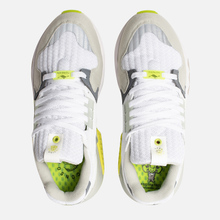 Мужские кроссовки adidas Consortium x Footpatrol ZX Torsion White/Solar Yellow/Ash Grey фото- 1