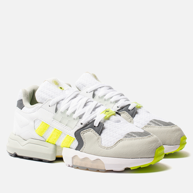 Мужские кроссовки adidas Consortium x Footpatrol ZX Torsion White/Solar Yellow/Ash Grey