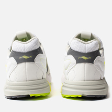 Мужские кроссовки adidas Consortium x Footpatrol ZX Torsion White/Solar Yellow/Ash Grey фото- 2