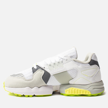 Мужские кроссовки adidas Consortium x Footpatrol ZX Torsion White/Solar Yellow/Ash Grey фото- 5