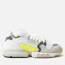 Мужские кроссовки adidas Consortium x Footpatrol ZX Torsion White/Solar Yellow/Ash Grey фото- 3