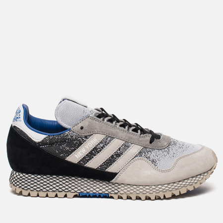 Мужские кроссовки adidas Consortium x Hanon New York Dark Storm Black/Grey/White