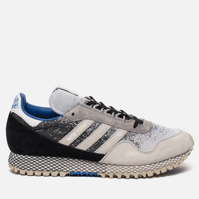 Мужские кроссовки adidas Consortium x Hanon New York Dark Storm Black/Grey/White
