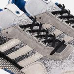 Мужские кроссовки adidas Consortium x Hanon New York Dark Storm Black/Grey/White фото- 3