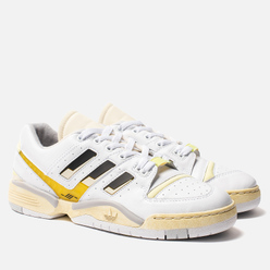 Мужские кроссовки adidas Consortium x High And Lows Torsion Edberg White/Core Black/Blush Yellow