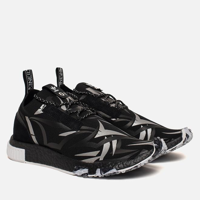 Кроссовки adidas Consortium x Juice NMD Racer Core Black/White/Core Black