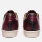 Мужские кроссовки adidas Consortium x Limited Edt Superstar Vault Leather Burgundy/Vintage Off White фото - 2