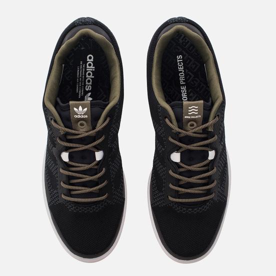Мужские кроссовки adidas Consortium x Norse Projects Campus 80's Primeknit Layers Pack Dark Asphalt