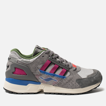 Мужские кроссовки adidas Consortium x Overkill ZX 10.000-C Grey Two/Supplier Colour