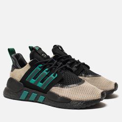 Мужские кроссовки adidas Consortium x Packer Shoes EQT 91/18 Core Black/Sub Green/Blanch Cargo
