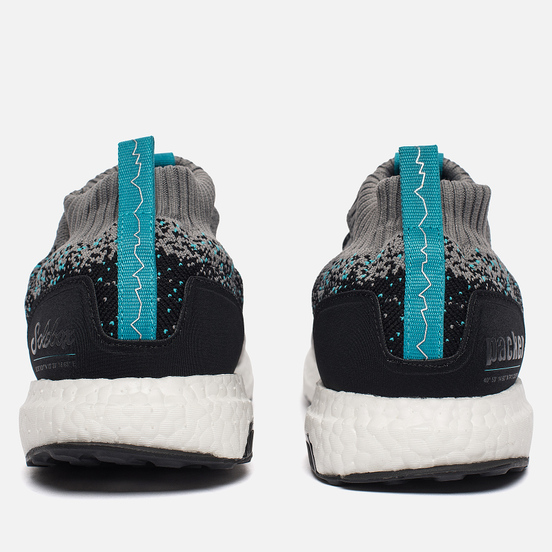 Мужские кроссовки adidas Consortium x Packer x Solebox Ultra Boost Mid Black/Grey