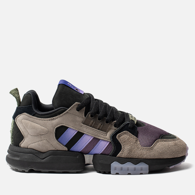 Мужские кроссовки adidas Consortium x Packer ZX Torsion Simple Brown/Energy Ink/Core Black
