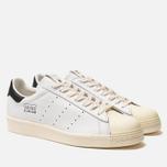 Мужские кроссовки adidas Consortium x Slam Jam Superstar 80s White/White/White фото- 1