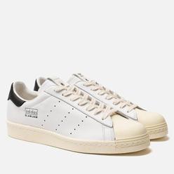 Мужские кроссовки adidas Consortium x Slam Jam Superstar 80s White/White/White