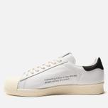 Мужские кроссовки adidas Consortium x Slam Jam Superstar 80s White/White/White фото- 2