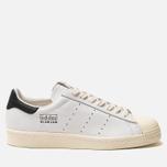Мужские кроссовки adidas Consortium x Slam Jam Superstar 80s White/White/White фото- 0