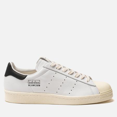 16b202b7481c Мужские кроссовки adidas Consortium x Slam Jam Superstar 80s  White White White