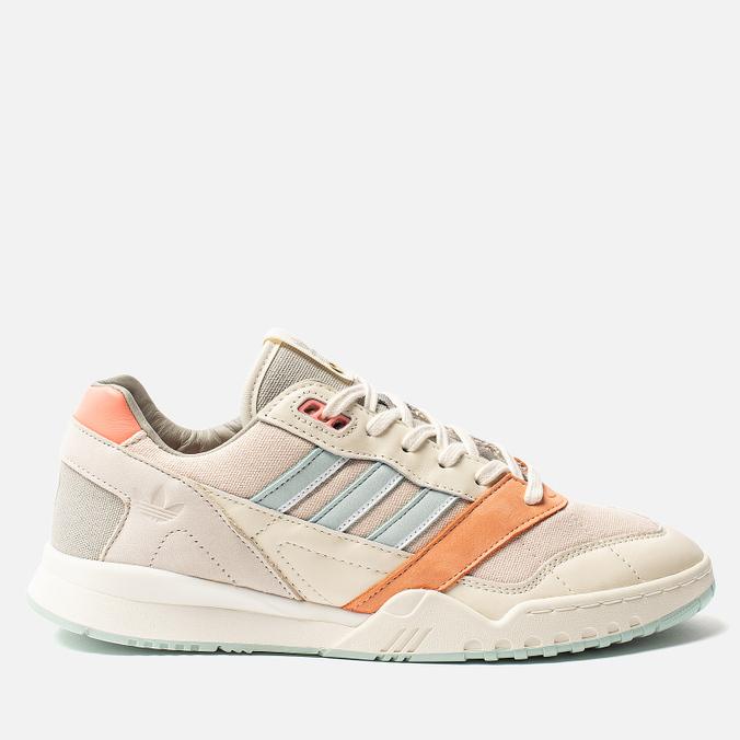 Мужские кроссовки adidas Consortium x The Next Door A.R. Trainer White/Off White/Ash Grey